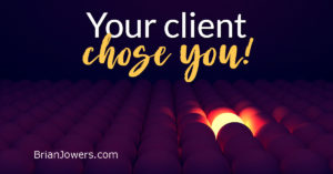 Client attracted by your mindset
